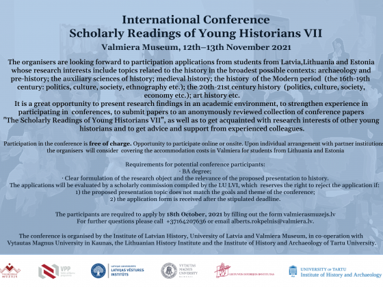 Poster for International Conference