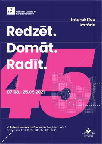 Poster interactive exhibition